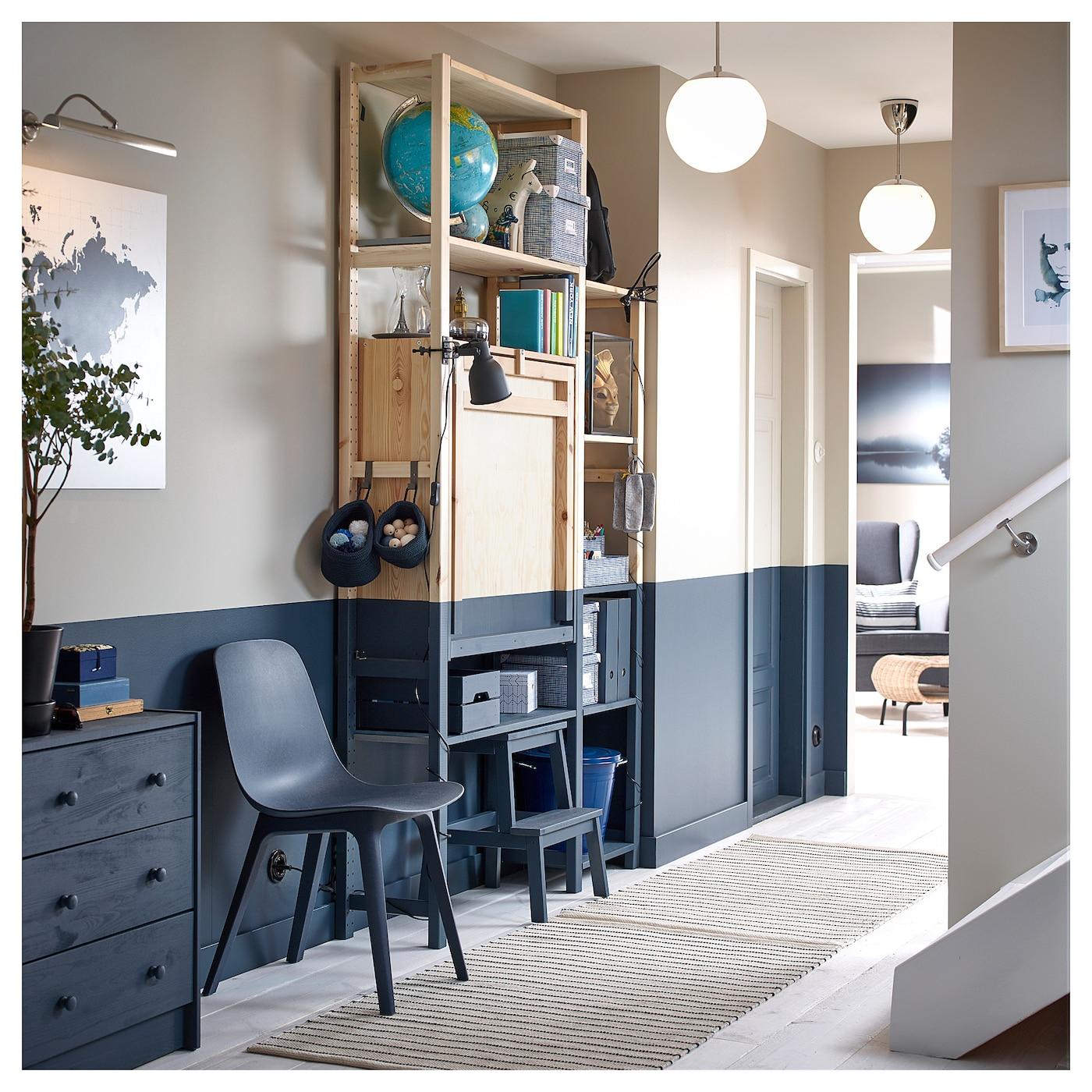 Ivar Rangement Avec Table Pliante - Pin 80X30-104X155 Cm à Table Salle A Manger Pliante Ikea