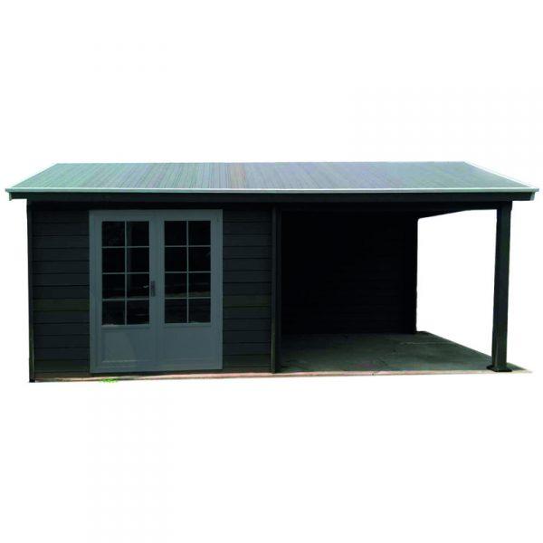Jardin ᐅ Abri De Jardin - Pool House Composite 6 X 3 Avec destiné Abri De Jardin Composite