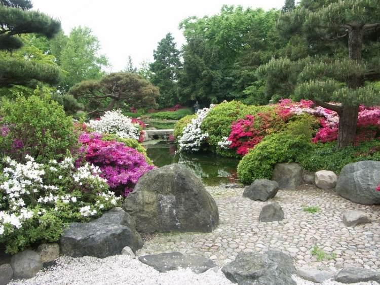 Jardin En Pente Moderne - Idées Et Conseils En 25 Photos dedans Abri De Jardin Style Japonais