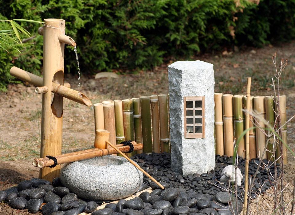 Jardin Japonais Zen : Tout Savoir Sur Le Jardin Sec Ou intérieur Fontaine Jardin Japonais