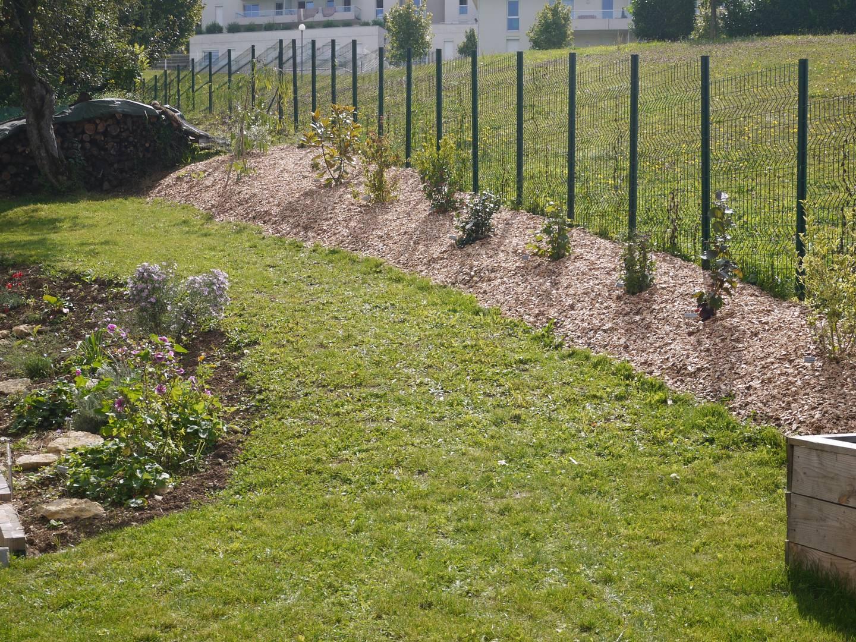 Jardin | Notre Maison Ossature Bois destiné Ecorces Jardin