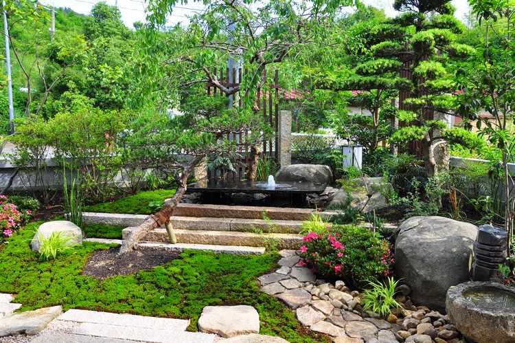 Jardins Japonais : Idées D'Aménagement, Conseils Précieux à Fontaine Jardin Japonais