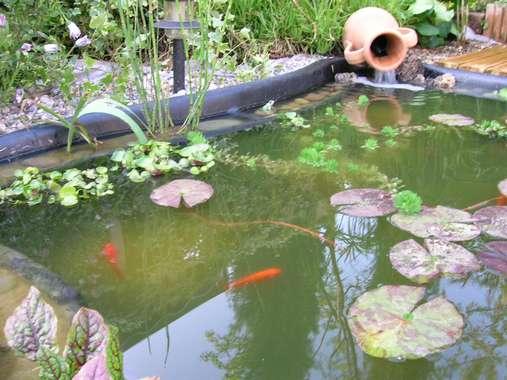 Jarre Pour Bassin De Jardin - Bassin De Jardin à Jarre De Jardin