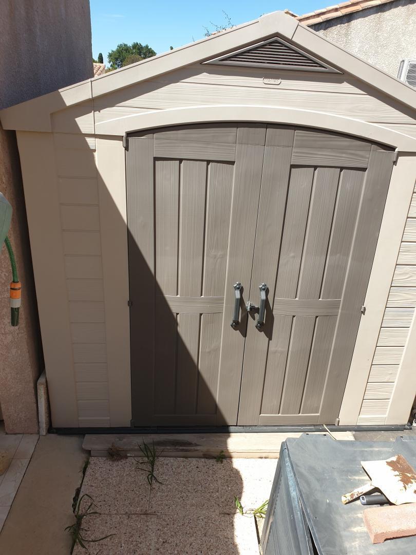 Keter Abri De Jardin En Résine Sydney 4,41M² + Plancher Inclus avec Abri De Jardin En Résine Sydney 4,41M² + Plancher Keter