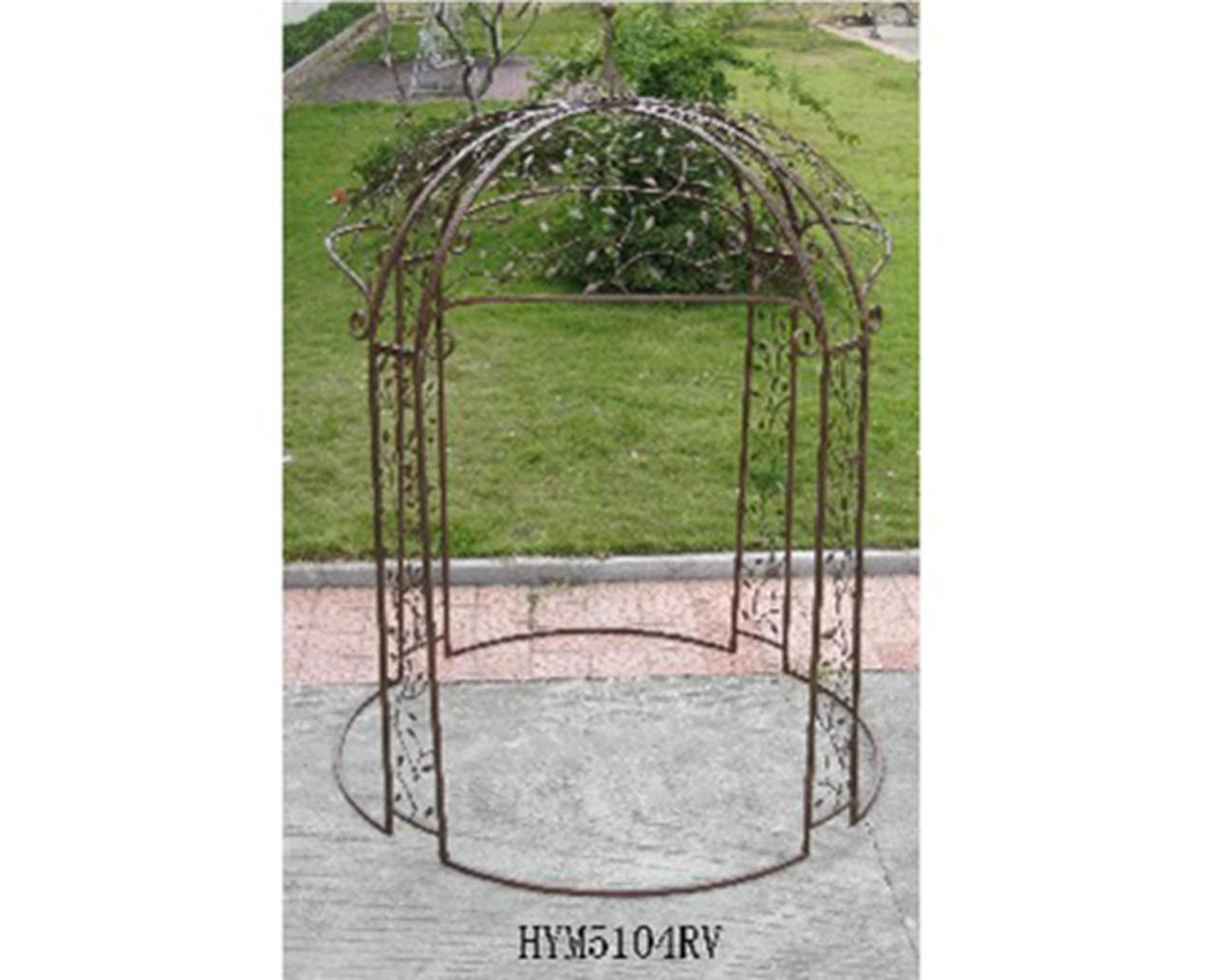 Kiosque En Bois Pour Jardin destiné Arche De Jardin Leroy Merlin