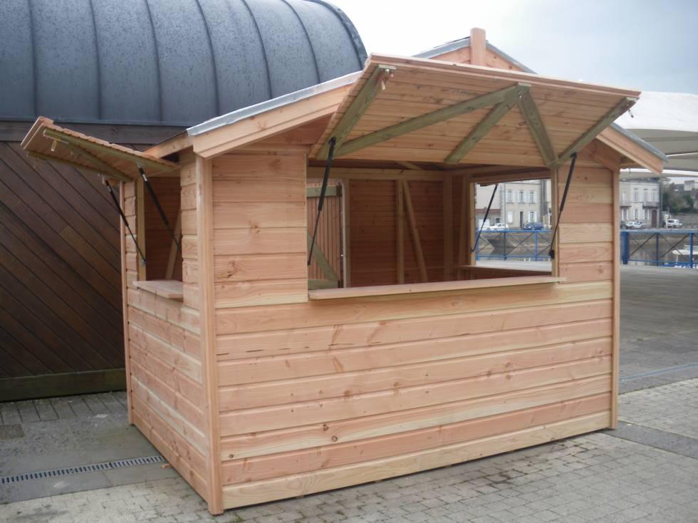 Kiosque Et Chalets En Bois - Piscine, Terrasse, Abris Et encequiconcerne Abri De Jardin 2X3