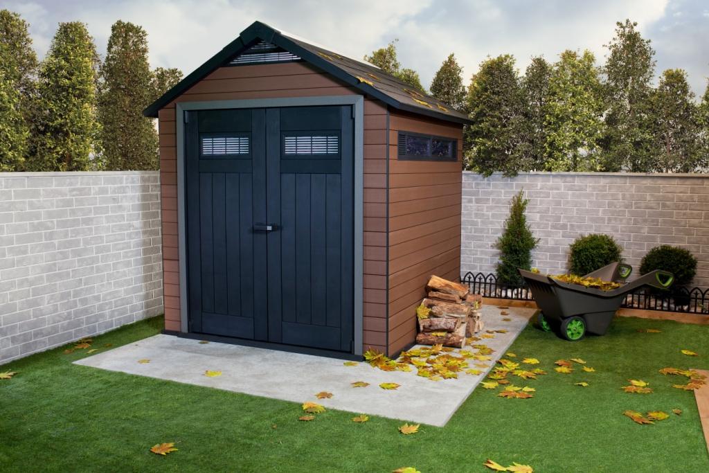 La Maison Du Jardin : Duramax L' Abri De Jardin Bois avec Abri De Jardin Composite