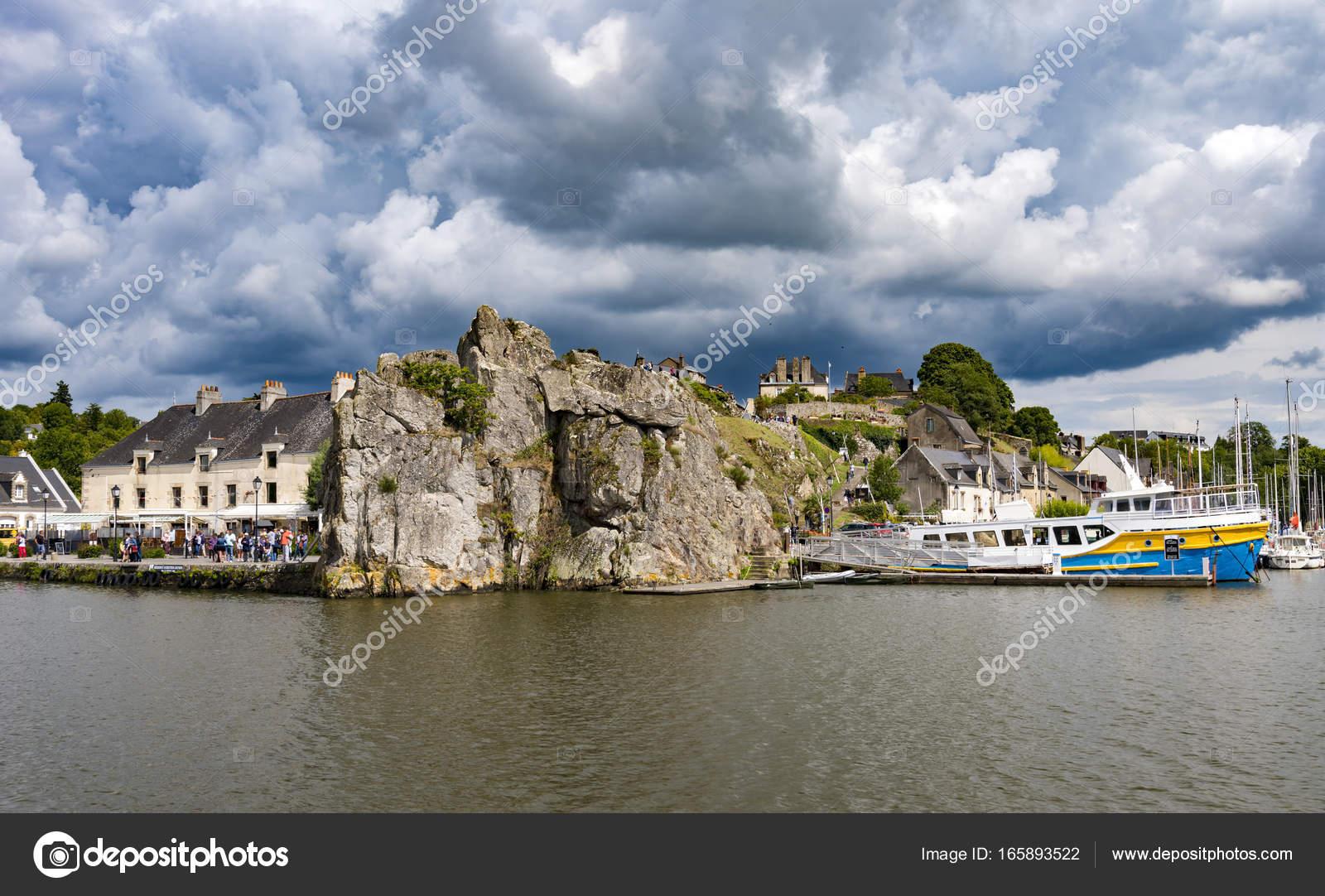 La Roche-Bernard En Bretagne, France — Photographie pour Chambre D Hote La Roche Bernard