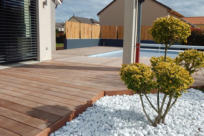 Lame En Bois Cumaru Pour Terrasse - Nature Bois Concept avec Modele Terrasse