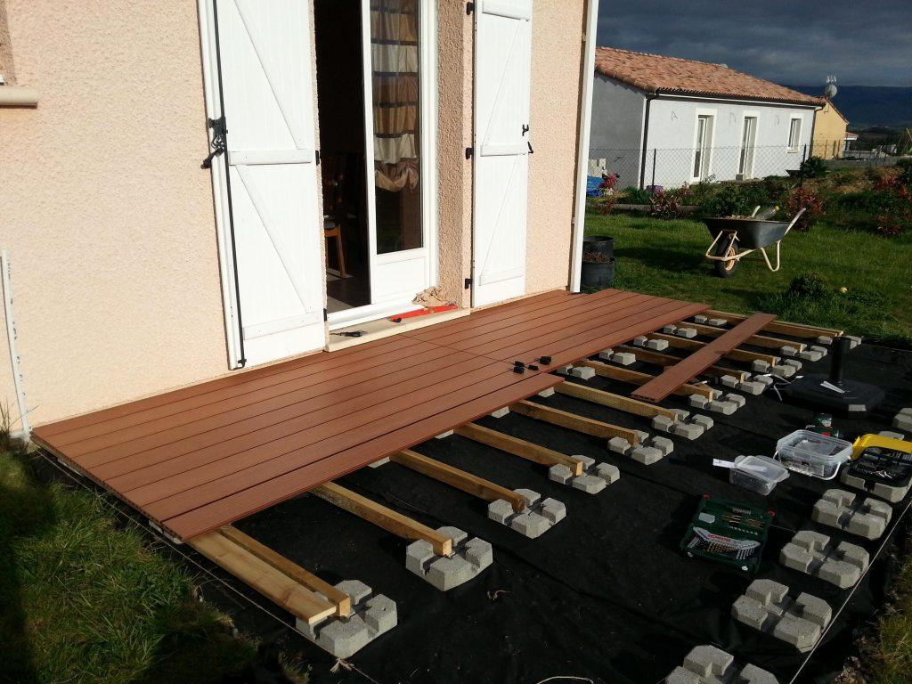 Lame Terrasse Bois Composite Pas Cher - Veranda-Styledevie.fr intérieur Destockage Lame De Terrasse Composite Pas Cher