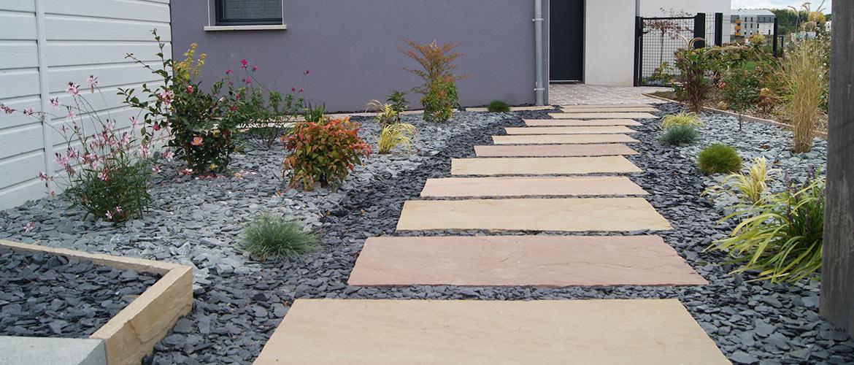 L'Aménagement Paysager - Ajienvironnement à Exemple D Aménagement De Jardin