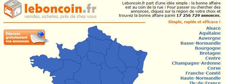 Le Bon Coin Ferait Perdre 312 Millions D'Euros De Recettes serapportantà Le Bon Coin54