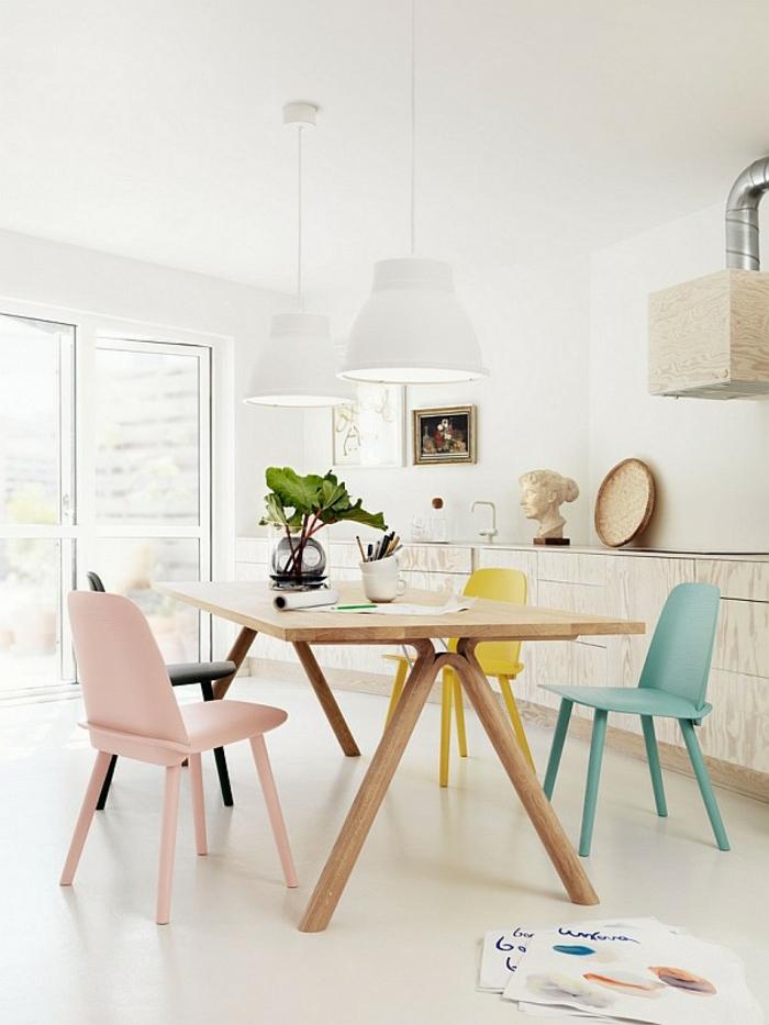 Le Design Scandinave - 60 Idées Merveilleuses - Archzine.fr pour Meuble De Salle A Manger Ikea