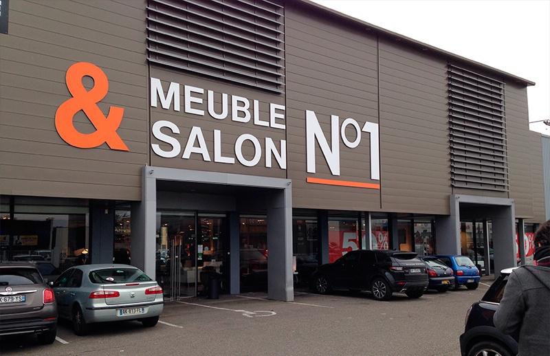 Le Geant Du Meuble - Salon N° 1 pour Magasin De Meuble Caen