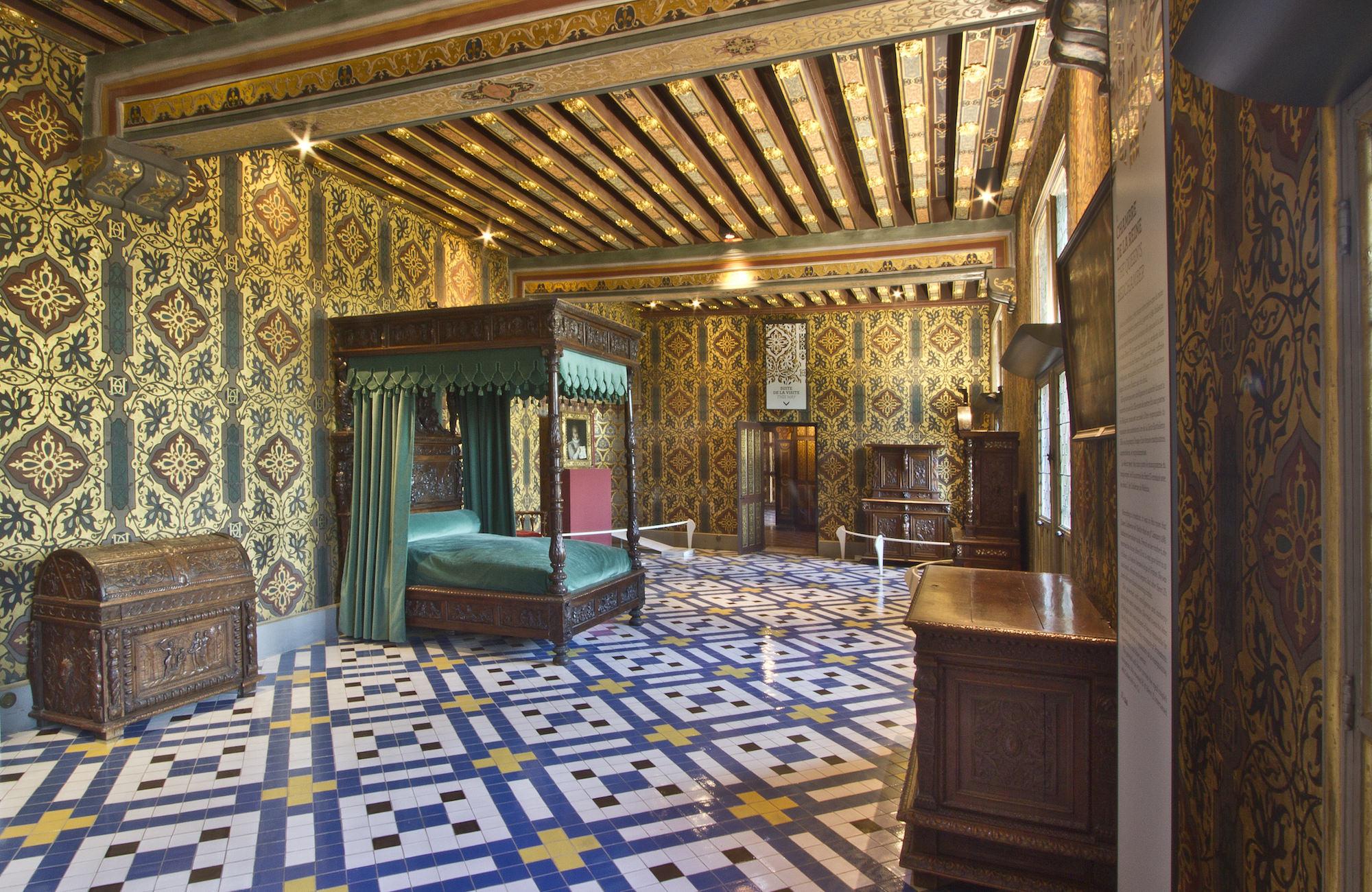 Le Parcours De Visite - Château Royal De Blois destiné Chambre Des Metiers Blois
