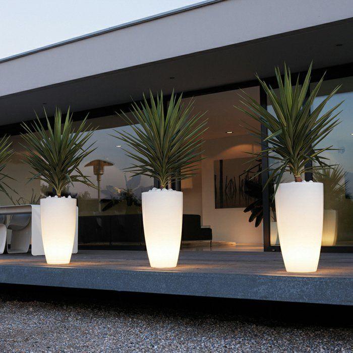 Le Pot Lumineux En 60 Images | Amenagement Jardin, Comment tout Salon De Jardin Lumineux