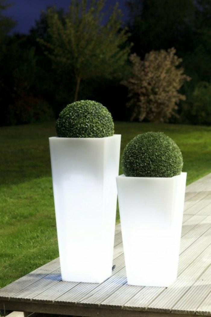 Le Pot Lumineux En 60 Images - Archzine.fr avec Salon De Jardin Lumineux
