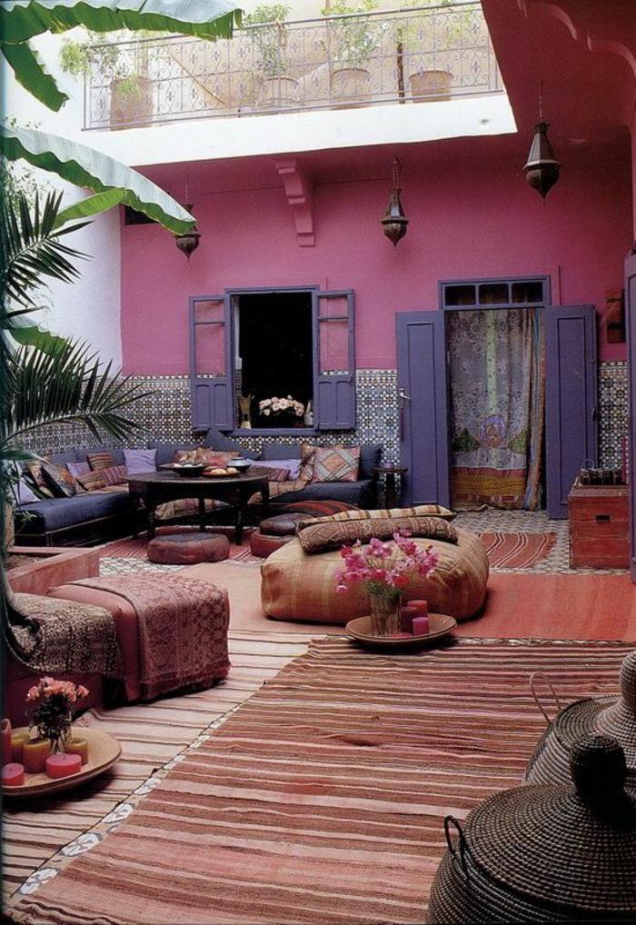 """Le Salon Marocain De """"Mille Et Une Nuits"""" En 50 Photos! avec Le Bon Coin Salon De Jardin"""