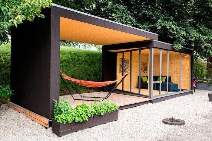 Le Top Des Abris De Jardin – 45 Idées Design | Cabanon De pour Abri De Jardin Habitable Design