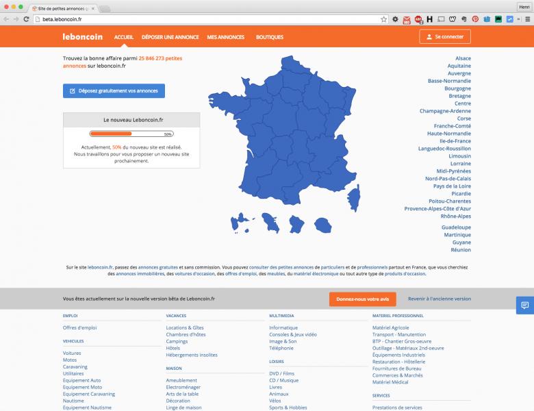 Leboncoin.fr A Un Nouveau Site Et De Nouveaux Outils Pour serapportantà Le Bon Coin57