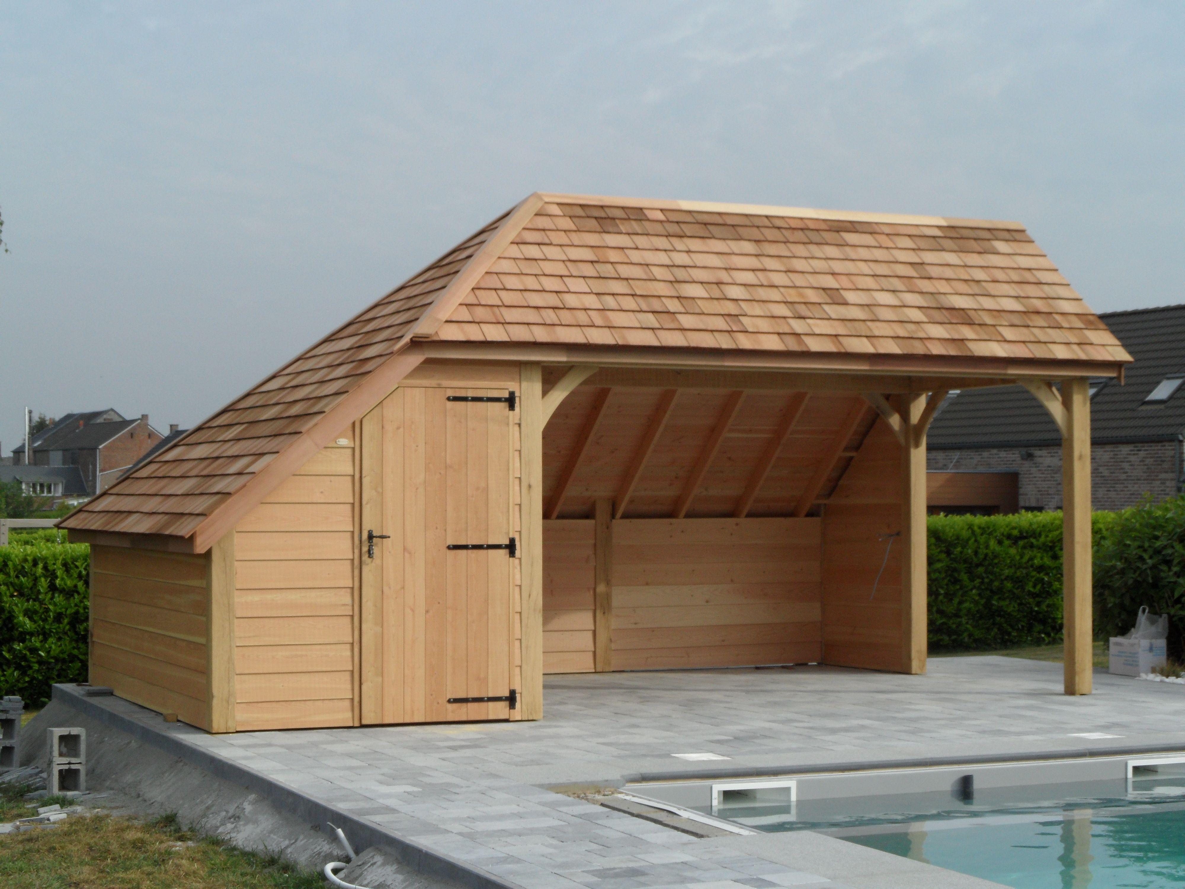L'Élaboration D'Abris À Piscine Sur Mesure Ou Cabane De serapportantà Abri De Jardin Habitable Design