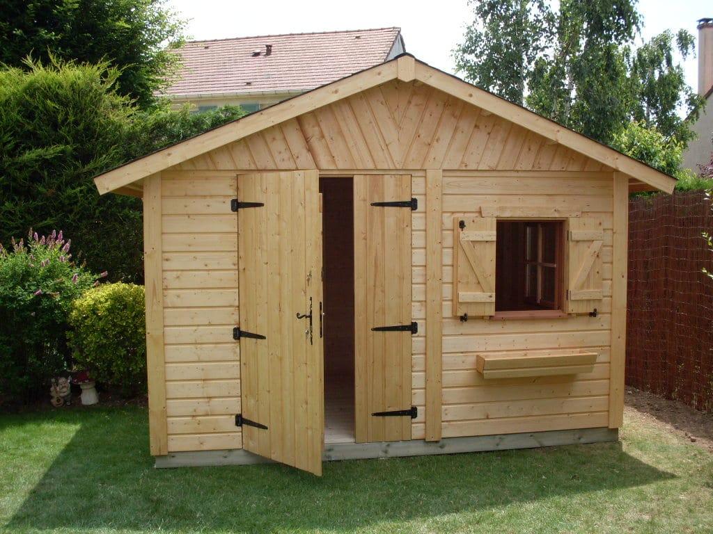 Les Bonnes Raisons De Construire Un Abri De Jardin - Blog destiné Construire Un Abris De Jardin