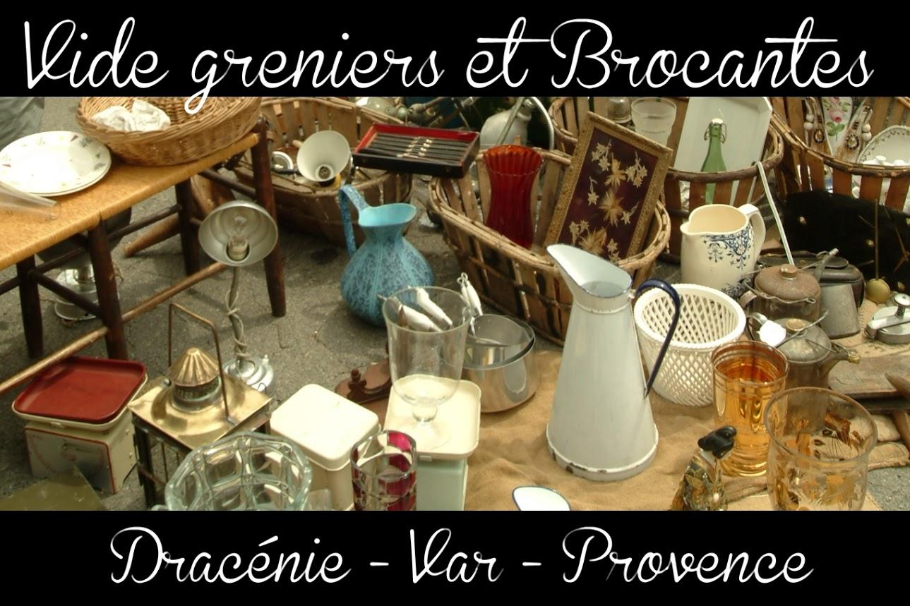 - Les Marchés Provençaux, Les Vide Greniers Et Brocantes concernant Chambre Des Metiers Draguignan