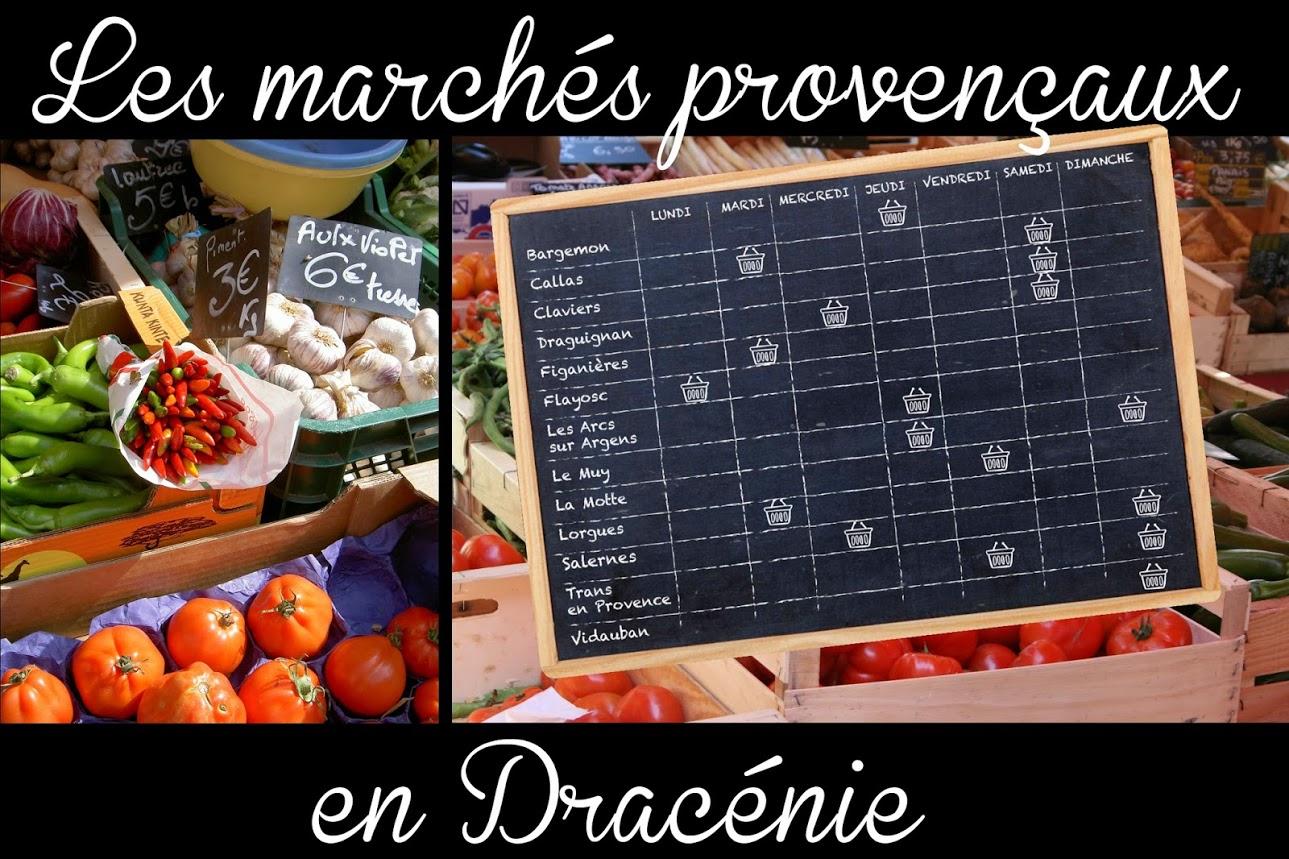 - Les Marchés Provençaux, Les Vide Greniers Et Brocantes serapportantà Chambre Des Metiers Draguignan
