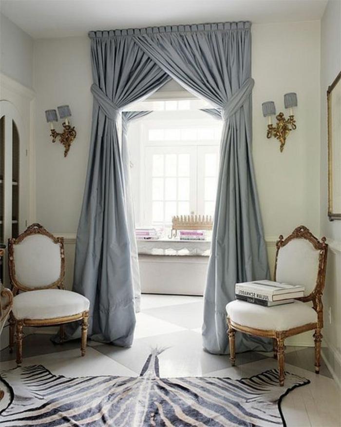 Les Rideaux Occultants - Les Plus Belles Variantes En Photos! encequiconcerne Idees De Salon