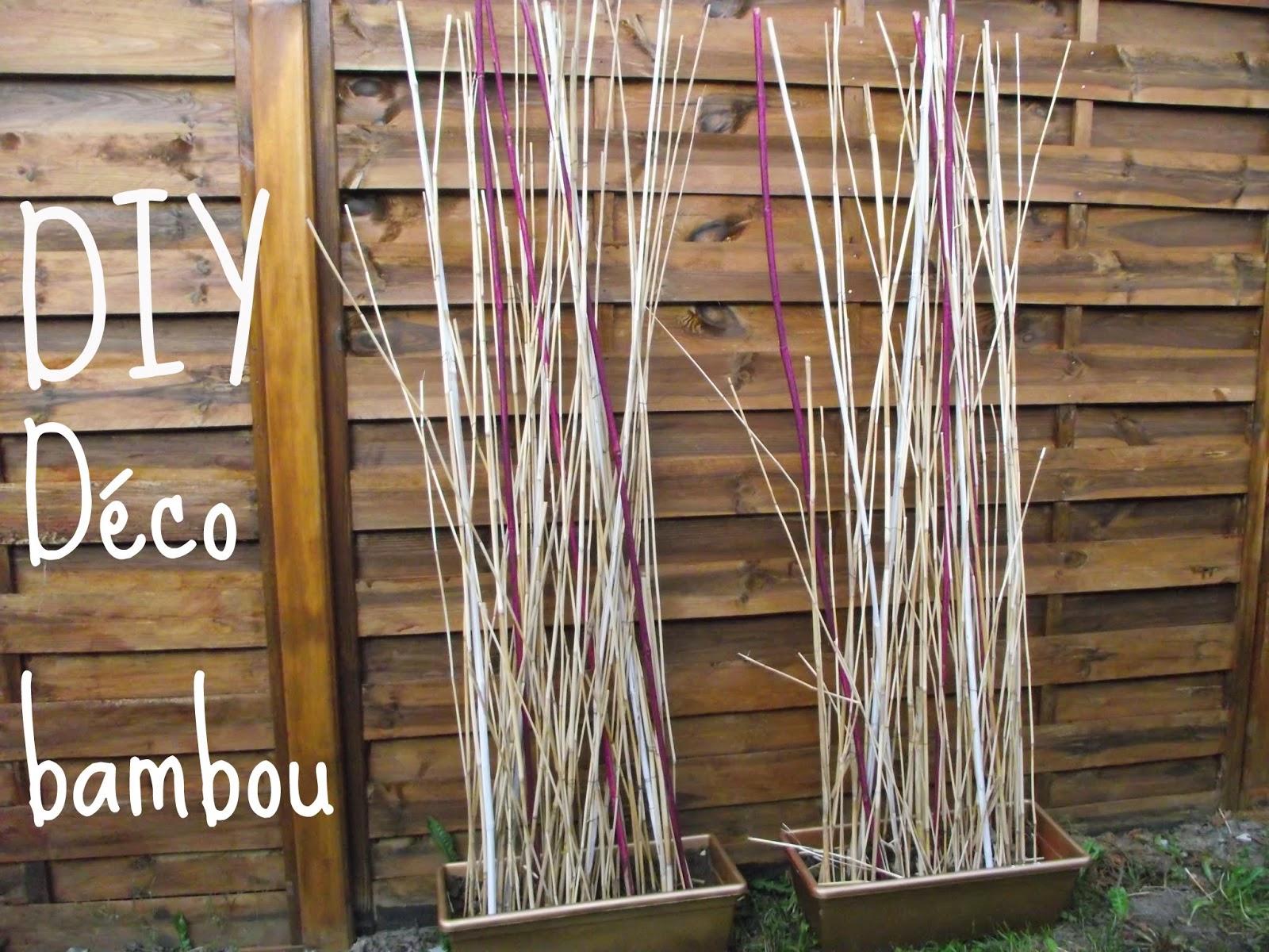 Les Tribulations Des Pipelettes serapportantà Déco Jardin Bambou