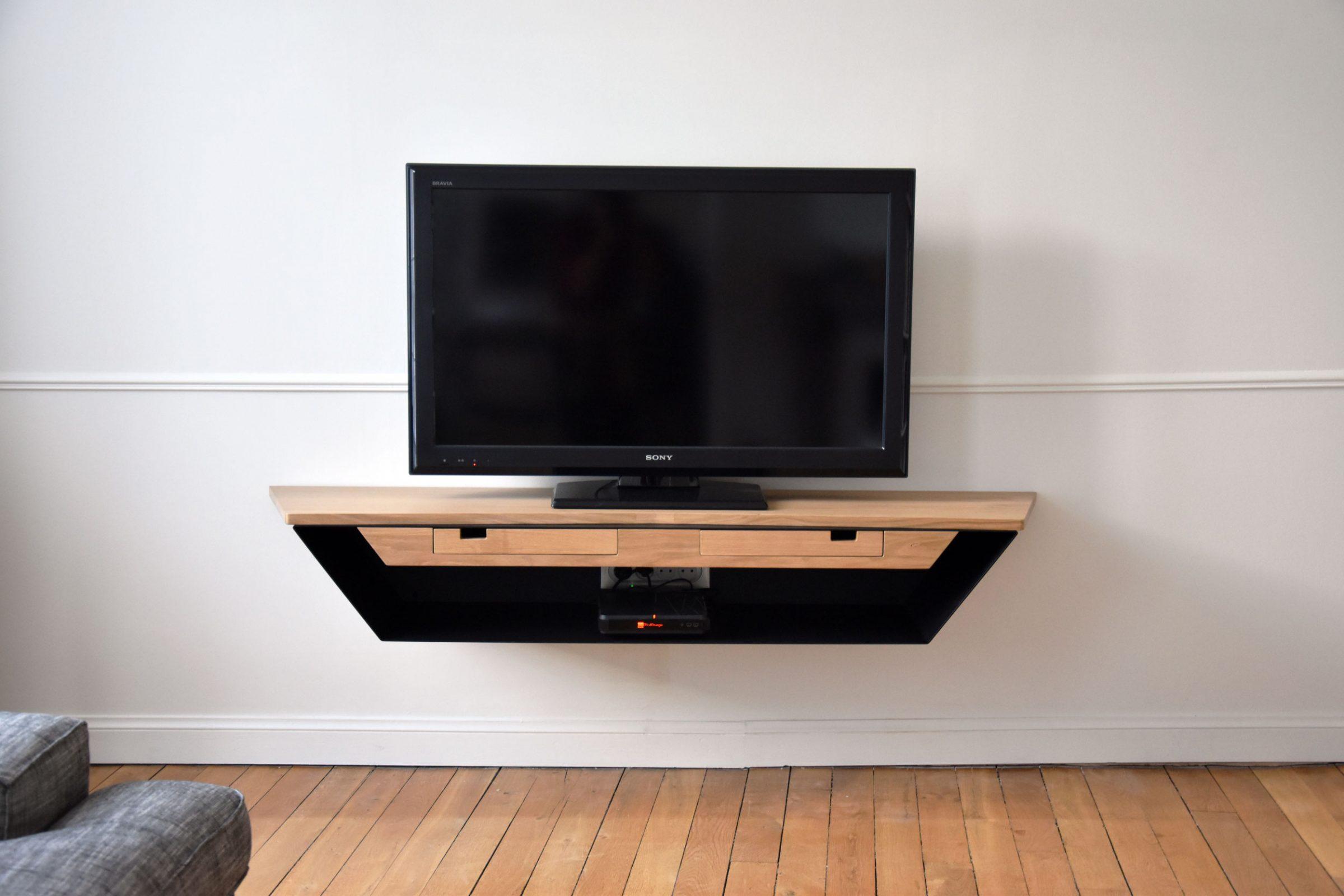 Lilliac / Meuble Tv – Baru Design encequiconcerne Tv But