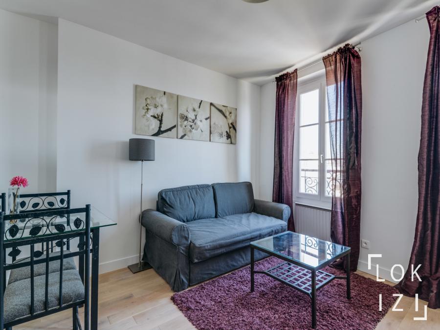 Location Appartement Meublé 1 Chambre 37M² (Paris 18) Par serapportantà Sci Familiale Location Meublée