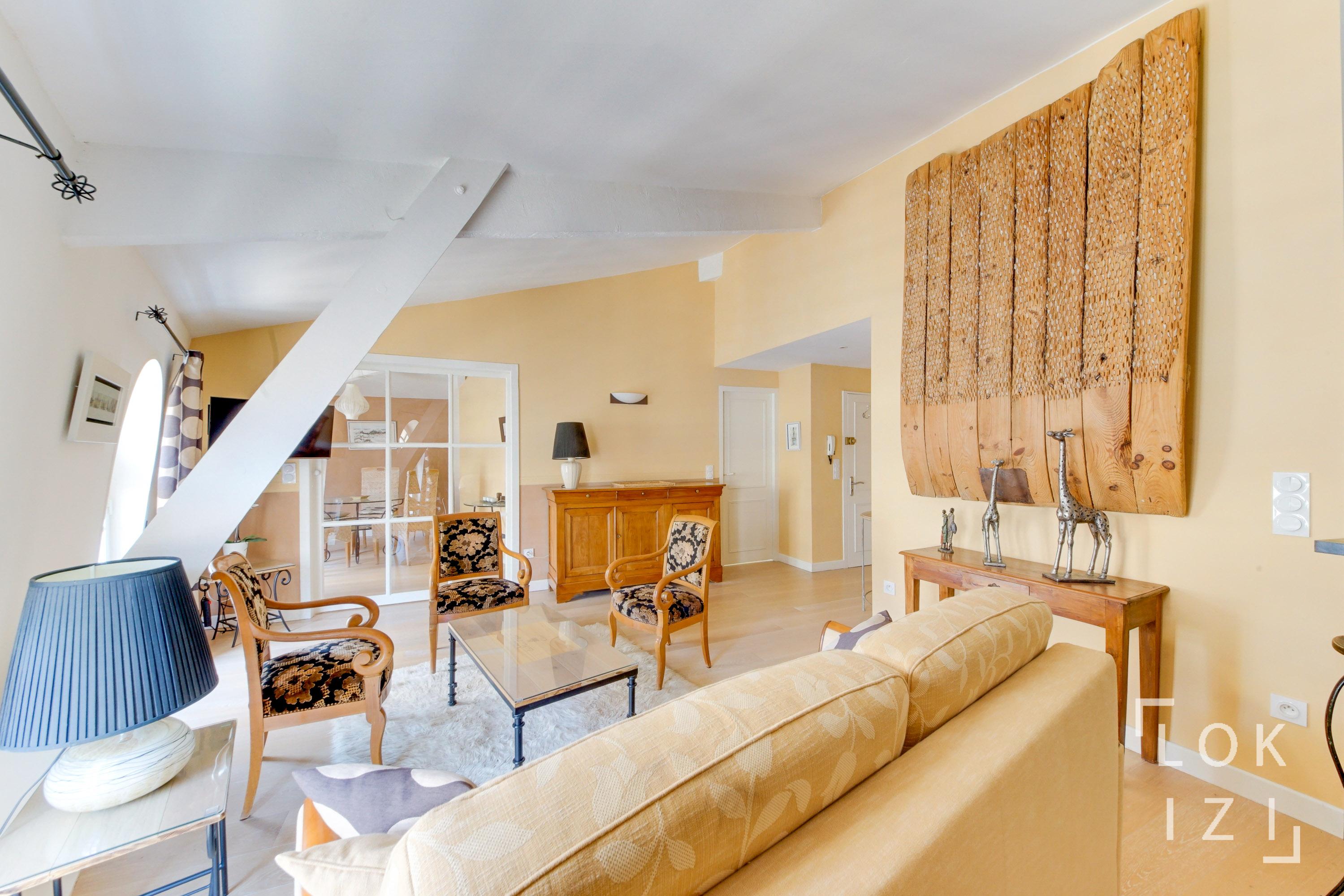 Location Appartement Meublé 1 Chambre 56M² (Bordeaux - Bourse) à Sci Familiale Location Meublée