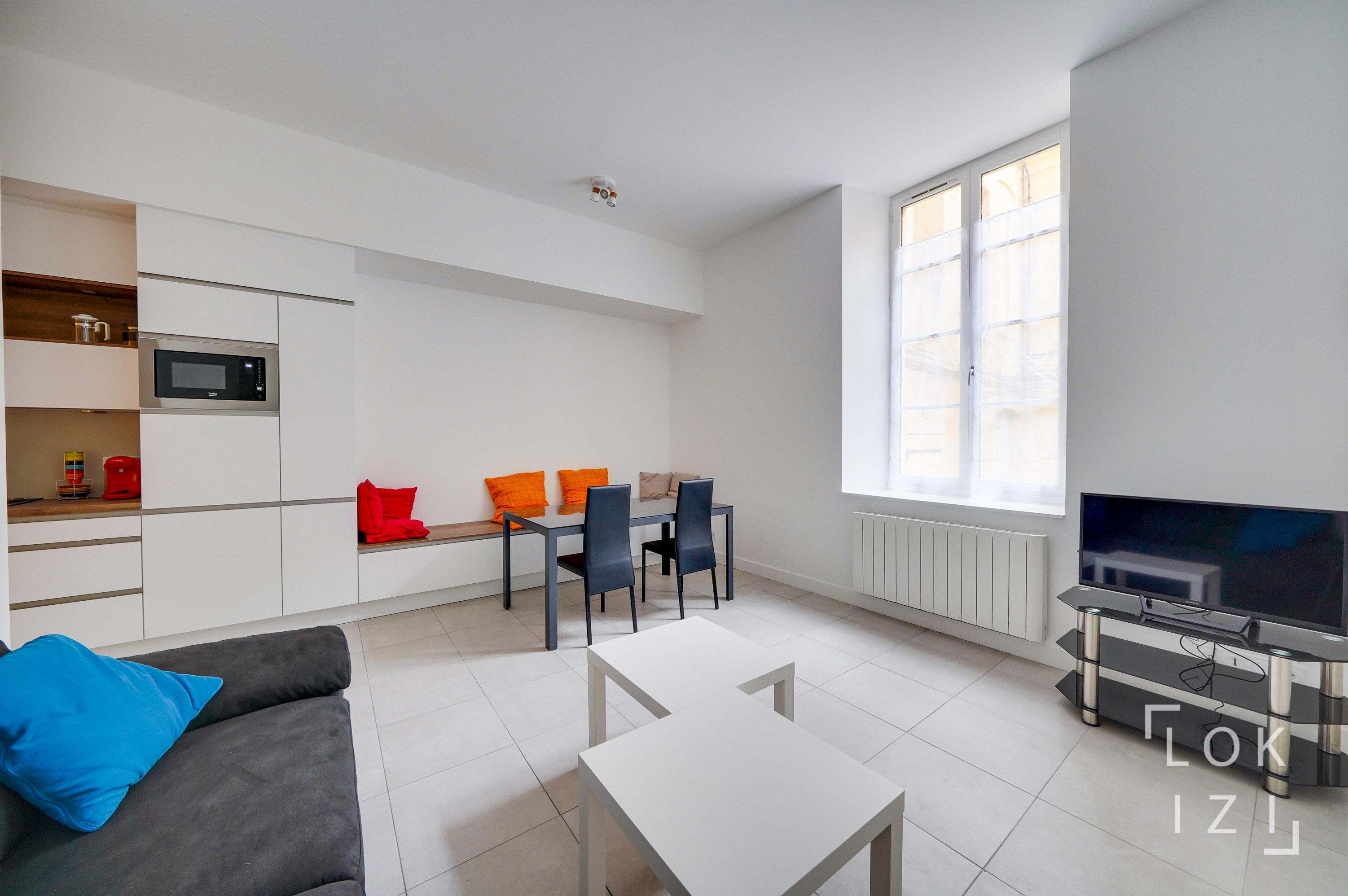 Location Appartement Meublé 2 Chambres 54M² (Bordeaux à Sci Familiale Location Meublée