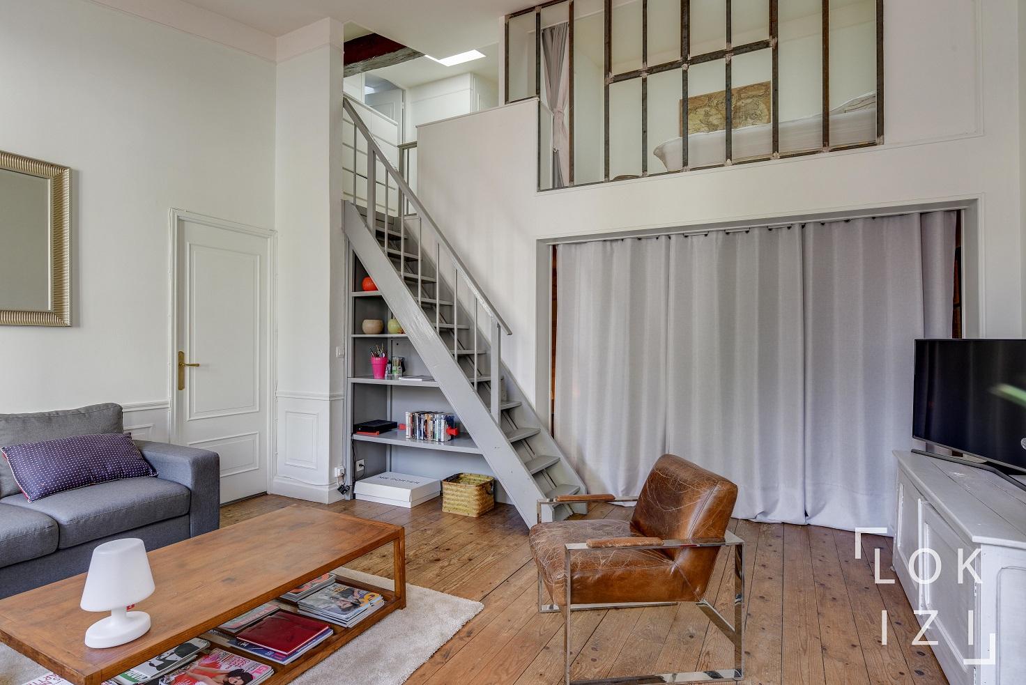 Location Appartement Meublé 2 Pièces 59M² (Bordeaux Centre serapportantà Studio Meublé Bordeaux