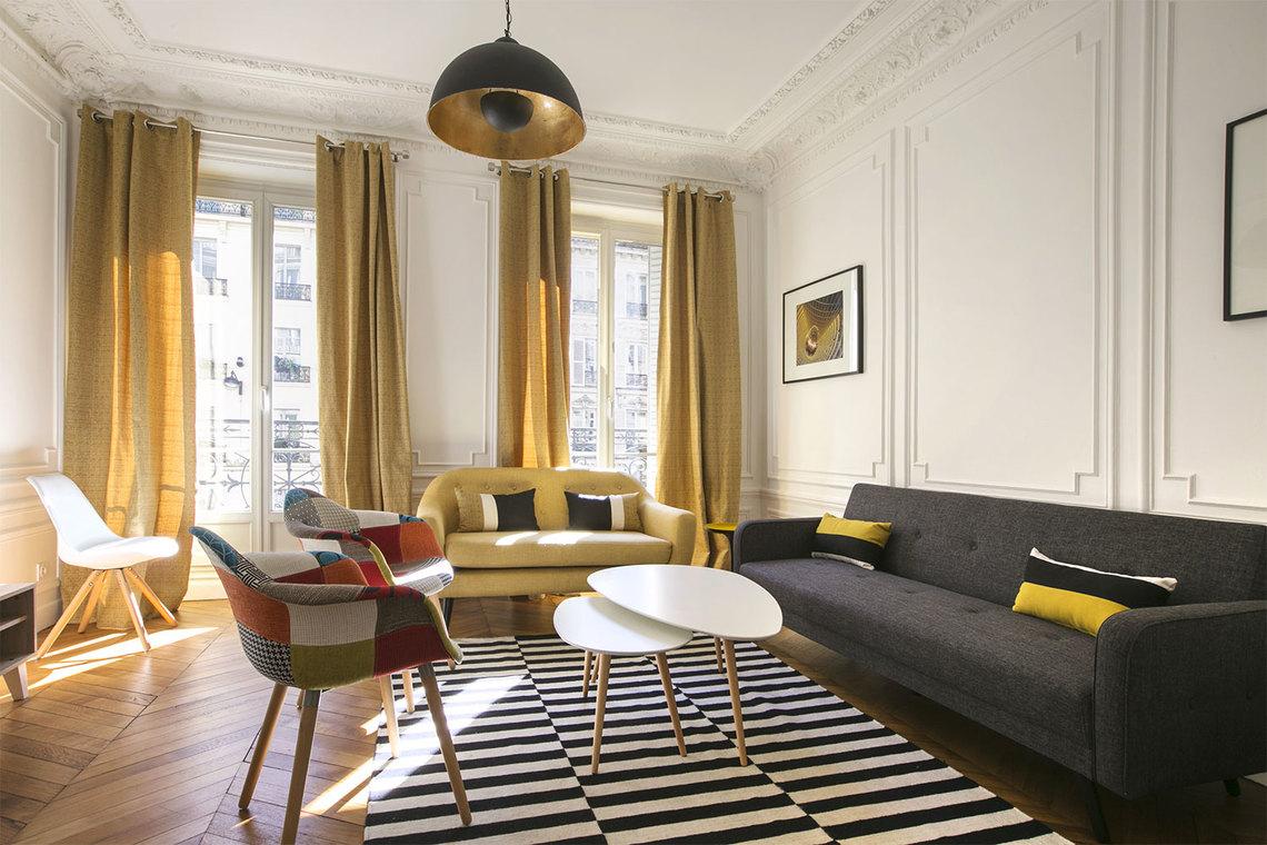 Location Appartement Meublé De 69 M2 Rue De Rennes À Paris dedans Location Meublé Rennes