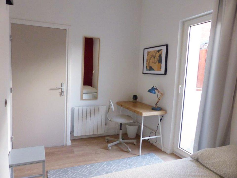 Location Chambre Meublée 13,6M² À Bordeaux (Victoire pour Sci Familiale Location Meublée
