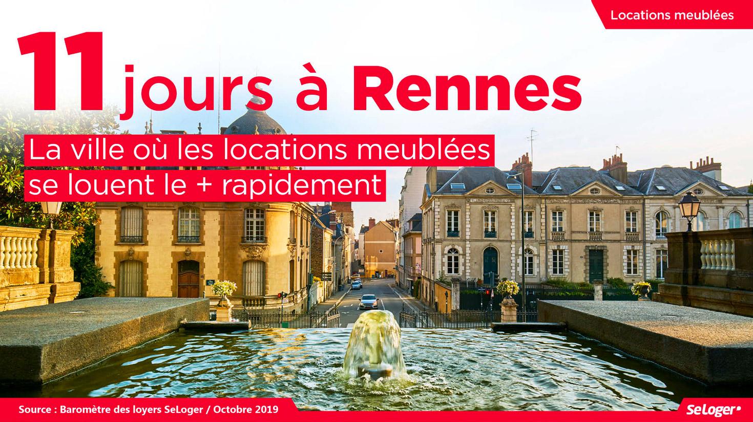 Location Meublée : 10 Infos Pour Tout Comprendre Au Marché concernant Location Meublé Rennes