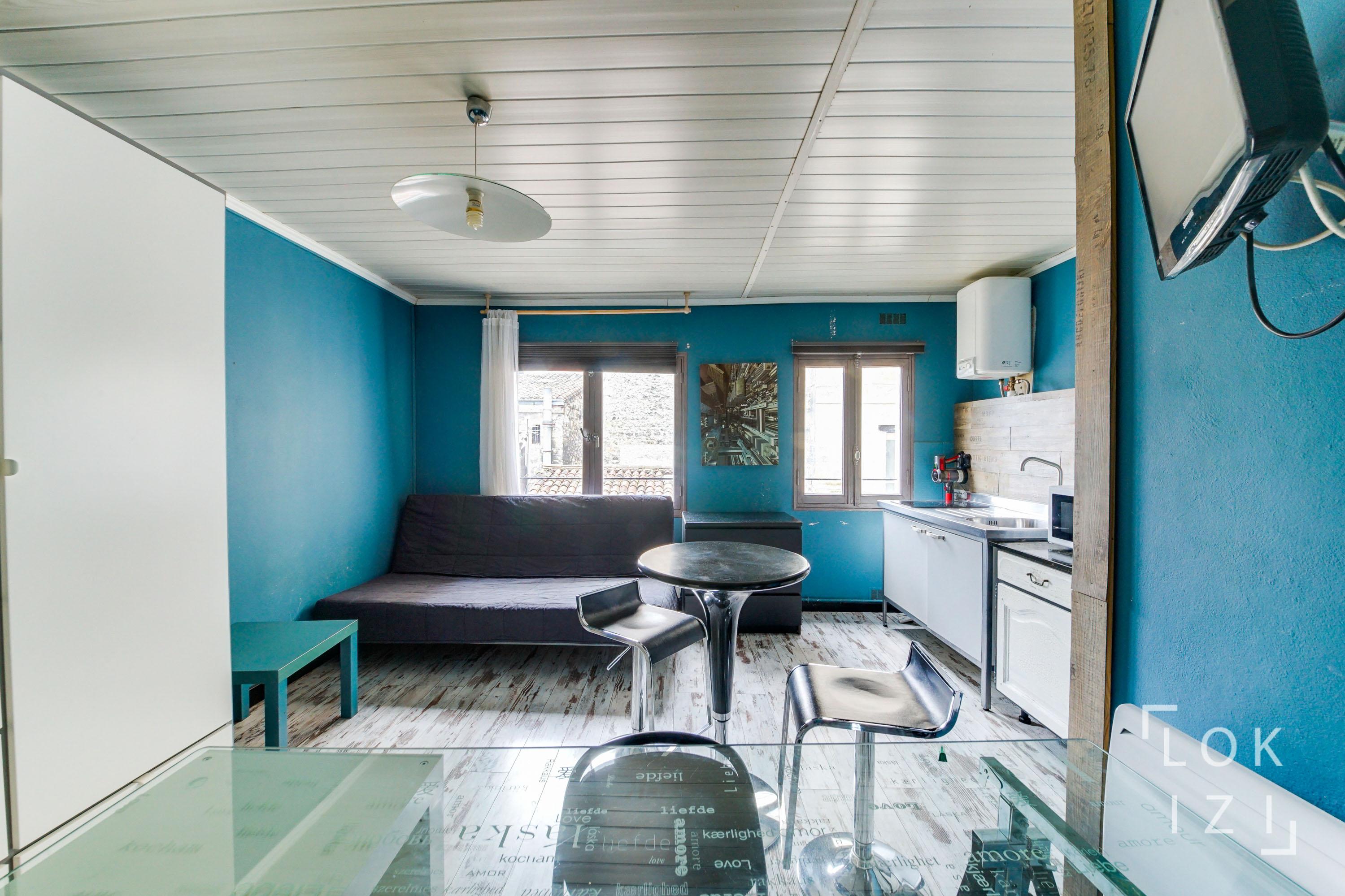Location Studio Meublé 20M² (Bordeaux Centre) Par Lokizi pour Studio Meublé Bordeaux