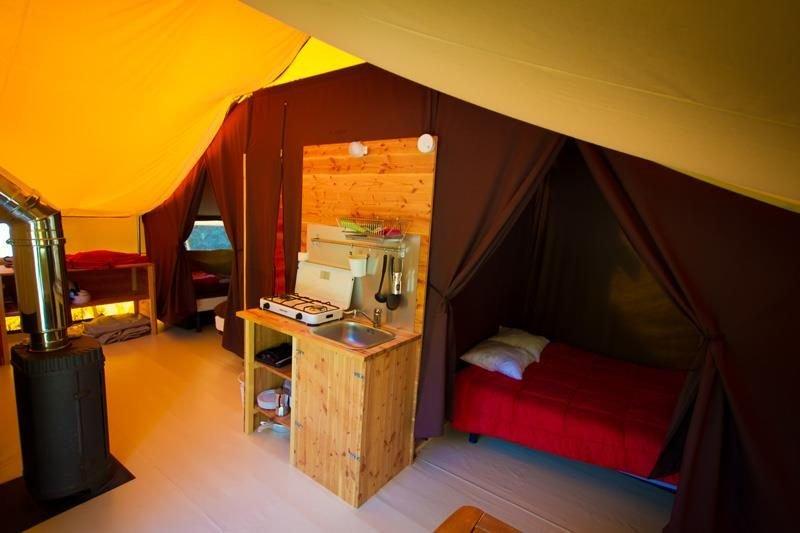 Lodge Safari Languedoc-Roussillon (Occitanie) - Tente avec Nuit Insolite Avec Jacuzzi Privatif Languedoc Roussillon