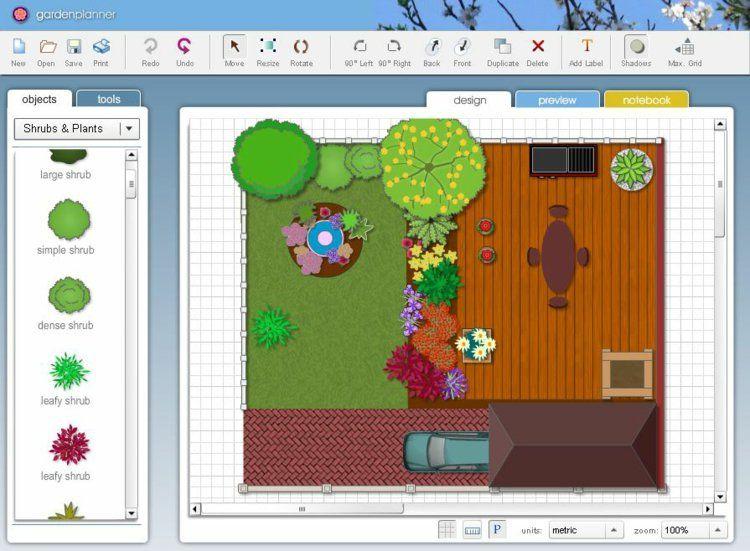 Logiciel Gratuit Plan Jardin 3D : 20 Idées De Logiciel encequiconcerne Logiciel Plan De Jardin