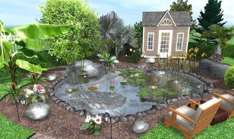 Logiciel Gratuit Plan Jardin 3D : 20 Idées De Logiciel serapportantà Paysager Son Jardin Logiciel Gratuit