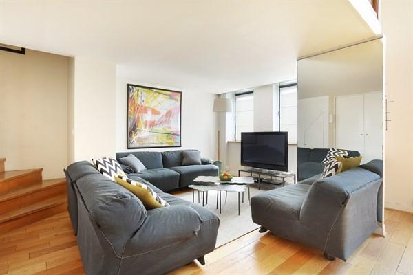 Magnifique Duplex Design De 84 M2 Avec 2 Chambres À dedans Location Appartement Luxe Paris Courte Durée
