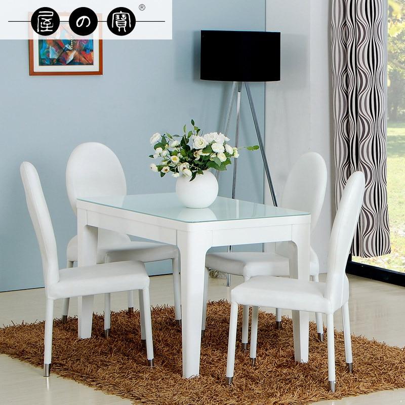 Maison De Trésor Blanc Petit Appartement Ikea Table À concernant Table Salle A Manger Ikea