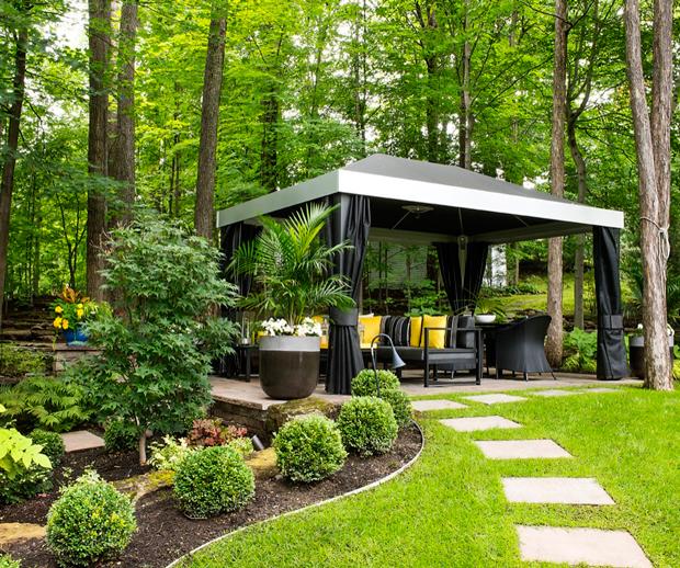 Maison & Demeure encequiconcerne Exemple D Aménagement De Jardin