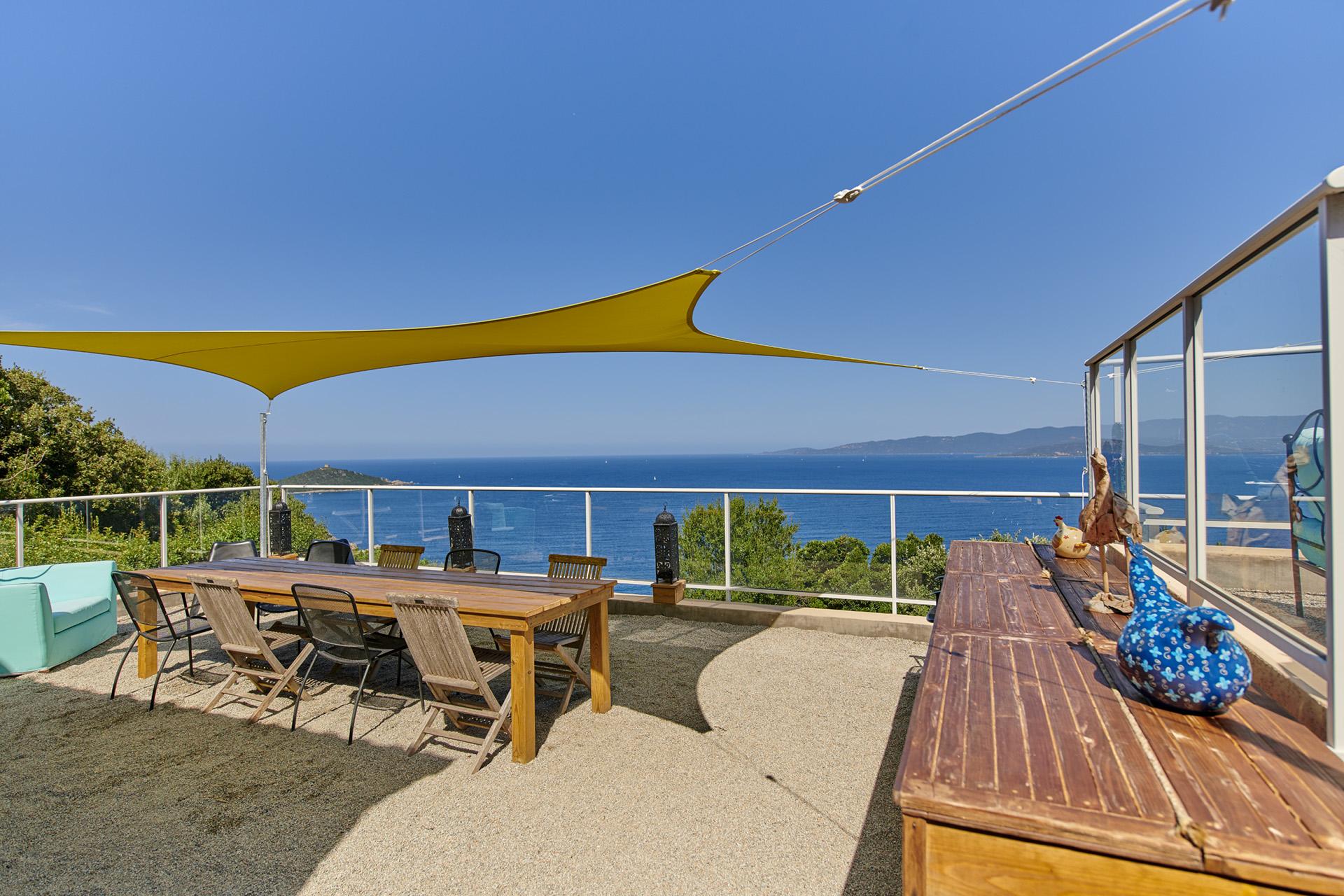 Maison D'Hôtes À Belvédère-Campomoro En Corse-Du-Sud avec Chambre D Hotes Corse Du Sud