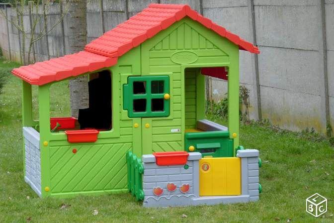 Maison Floralie Smoby destiné Maison De Jardin Enfant