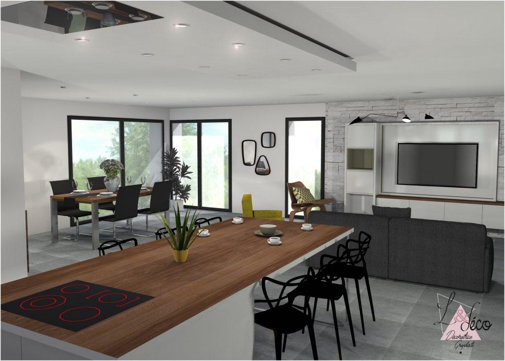 Maisons Plain Pied - Architecture Et Tradition tout Interieur Delamaison