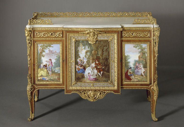 Martin Carlin - Commode De Madame Du Barry - 1772 à Meubles Martin