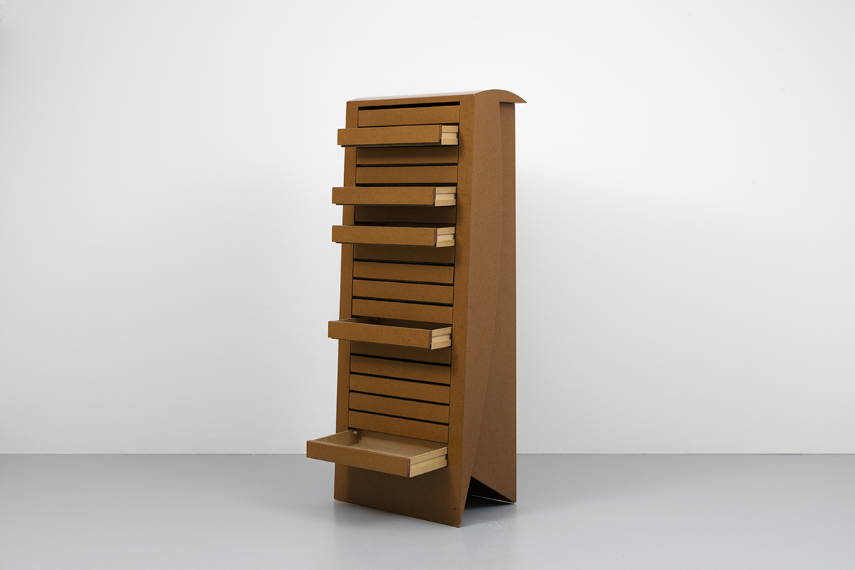Martin Szekely, Meuble Presse-Papiers Collection Containers tout Meuble A Papier
